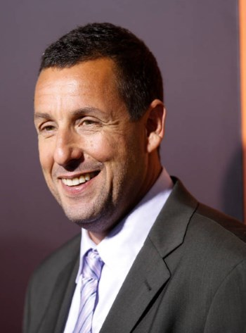 Adam Sandler is most know for his roles in comedy films.