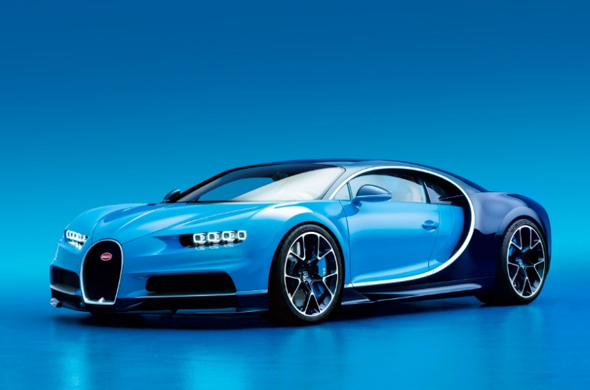 The Bugatti Chiron is the most luxurious super car ever build.