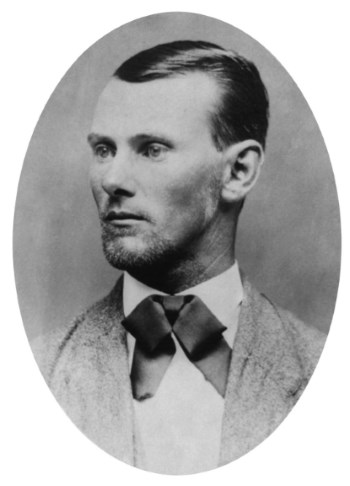 Jesse James definitely is one of the most famous American outlaws