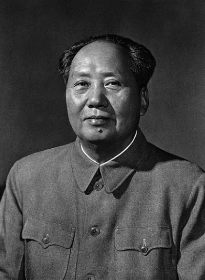 Mao Zedong held a campaign of silencing people in China who do not think the same as him