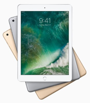 The New 2017 iPad looks just like its predecessor