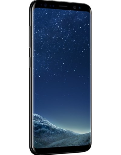The Samsung Galaxy S8 features a infinity display.