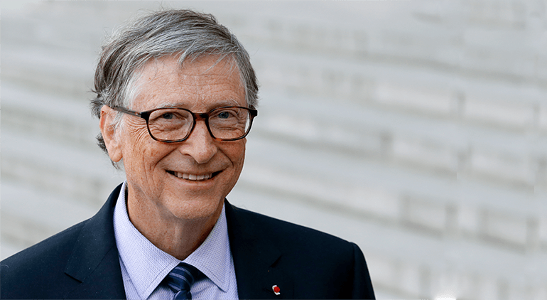Bill Gates is the founder of Microsoft nad his estimated net worth stands at $102.1 billion.