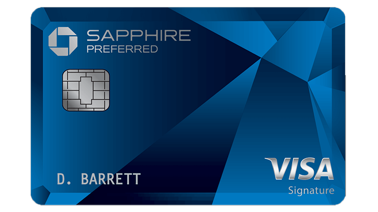 Chase Sapphire credit card