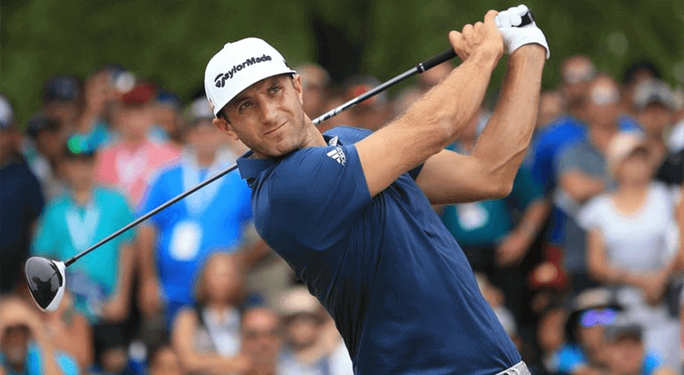 Dustin Hunter Johnsonp layed on the PGA Tour and was ranked position one in 2017
