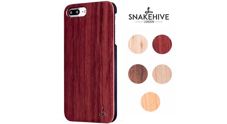 Snakehive Wood Back case for iPhone