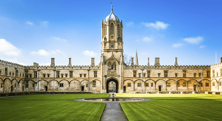 The University of Oxford has been a top choice for many years running