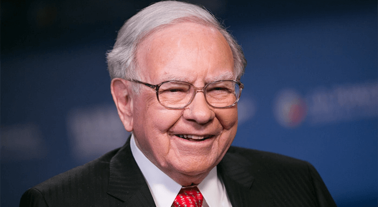 Warren Buffett is the fourth wealthiest person in the world with an estimated net worth of $84.8 billion
